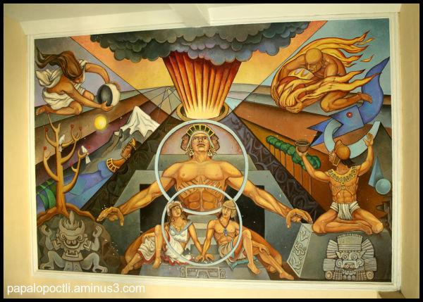 Mural en el Museo de Colima