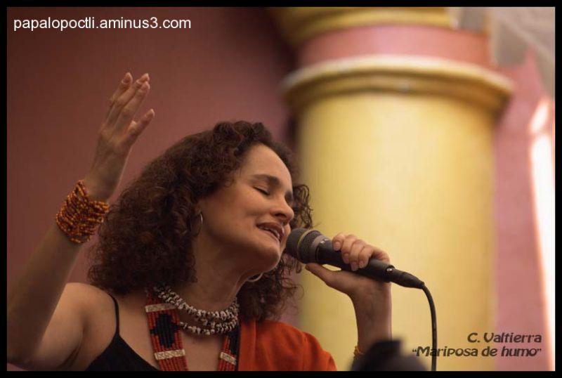 Susana Harp, en una presentación