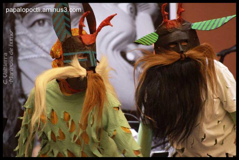 Máscaras Bailarines