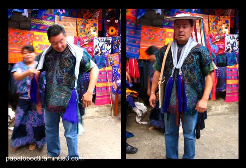 Ropa bordada para novio, Chiapas