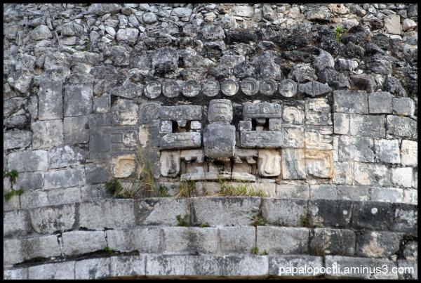 Detalle de Observatorio de Chichén Itzá