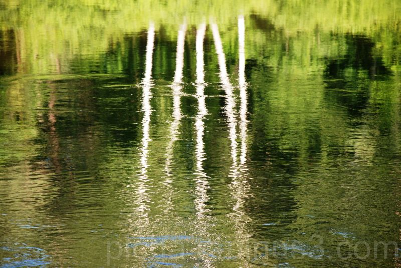 Gauja river Sigulda Latvia reflection