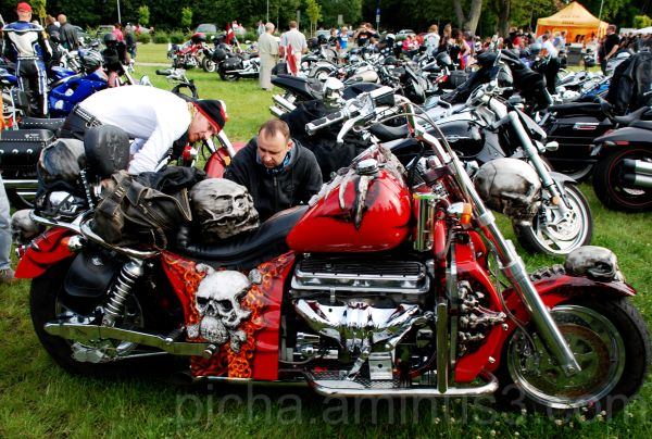 bikers festival August 2009 Sigulda Latvia