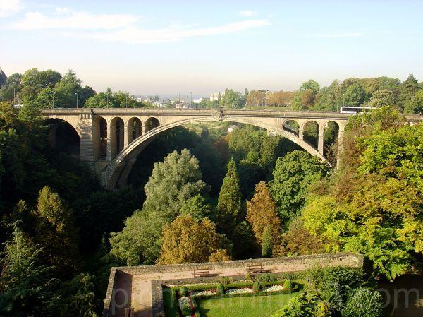 Luxembourg city Autumn