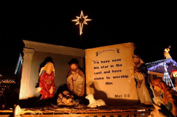"""Unto our hearts, Christ is born"""