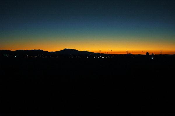 Early morning dawn