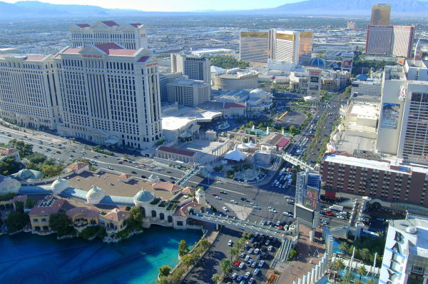 Vegas from the top