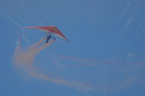 The paraplegic hang glider