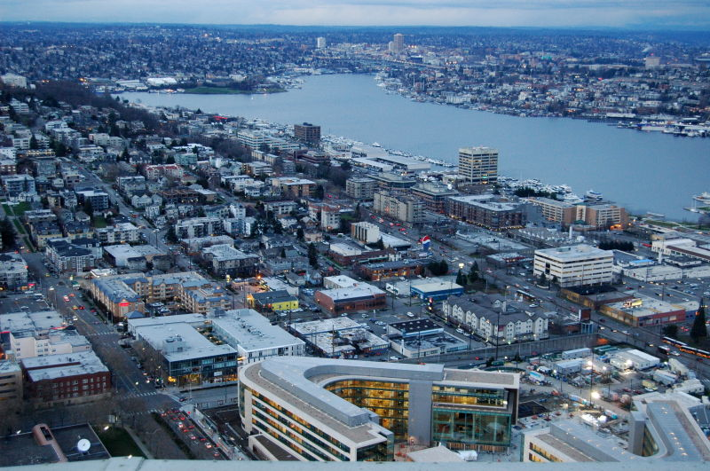 """""""Seattle, Wa from the top"""""""