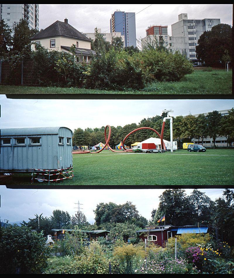 suburban collage