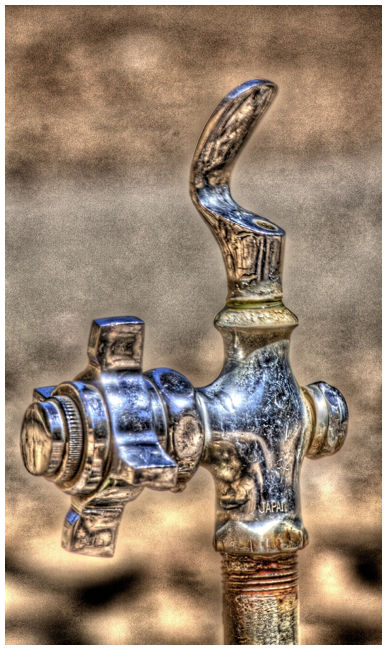 Water Fountain HDR