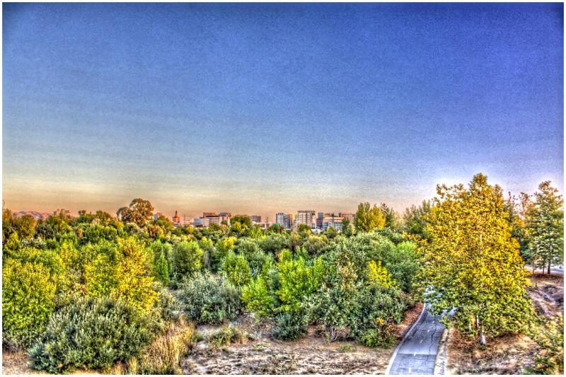 HDR San Jose Skyline