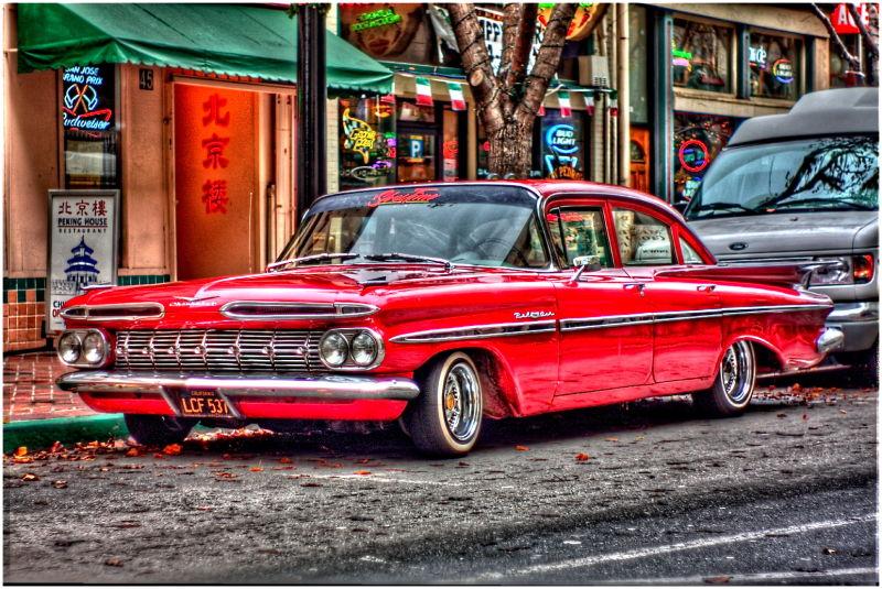 Chevrolet Bel Air HDR