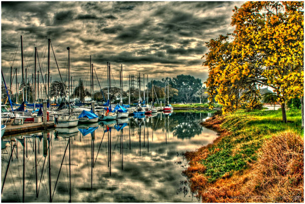 Coyote Point Marina HDR