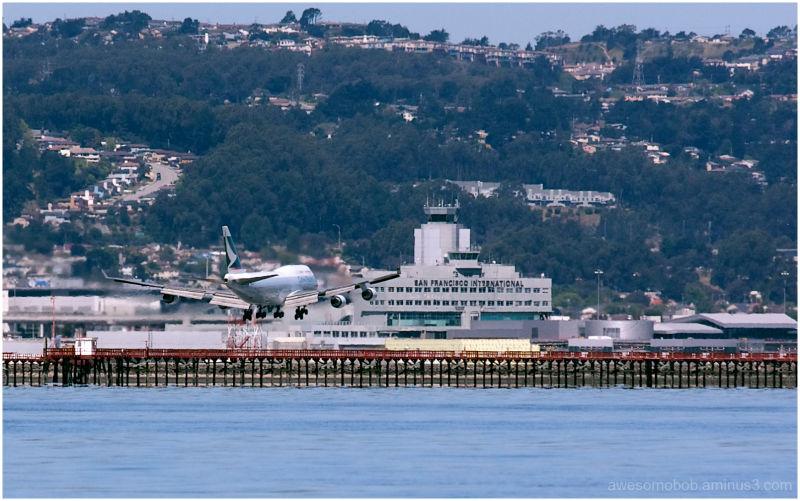 Cathay Pacific at San Francisco International