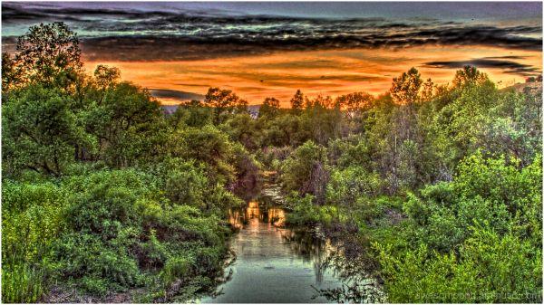 Gilroy Sunset HDR