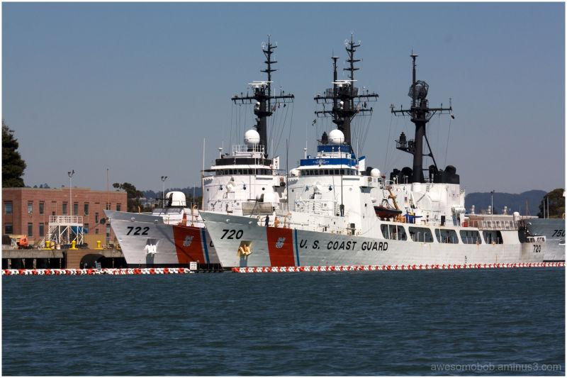US Coast Guard Island