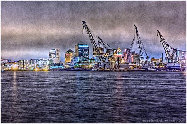 Oakland by Night