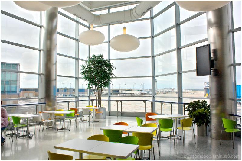 The Detroit Metropolitan International Airport