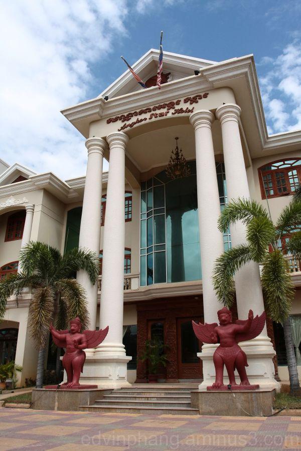 angkor wat, angkor star hotel,cambodia,siem reap