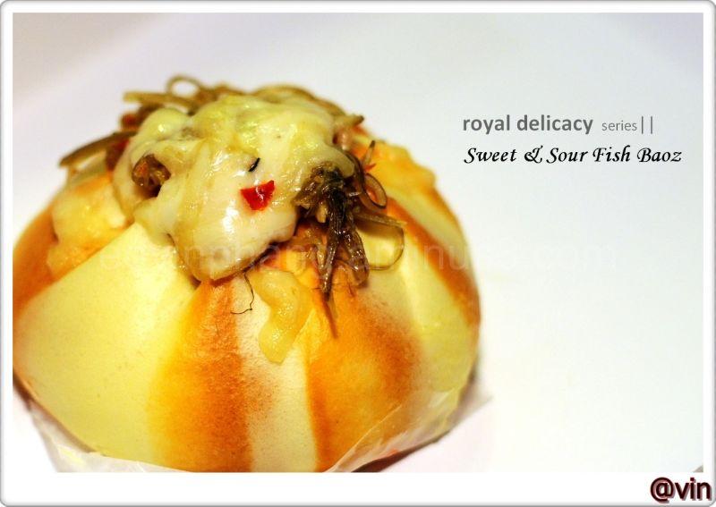 Sweet & Sour Fish Baoz