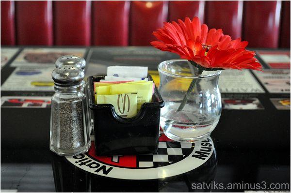 Salt, pepper & sweetner