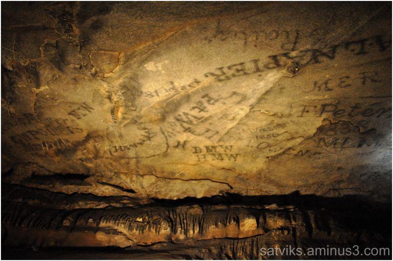 Cave graffiti
