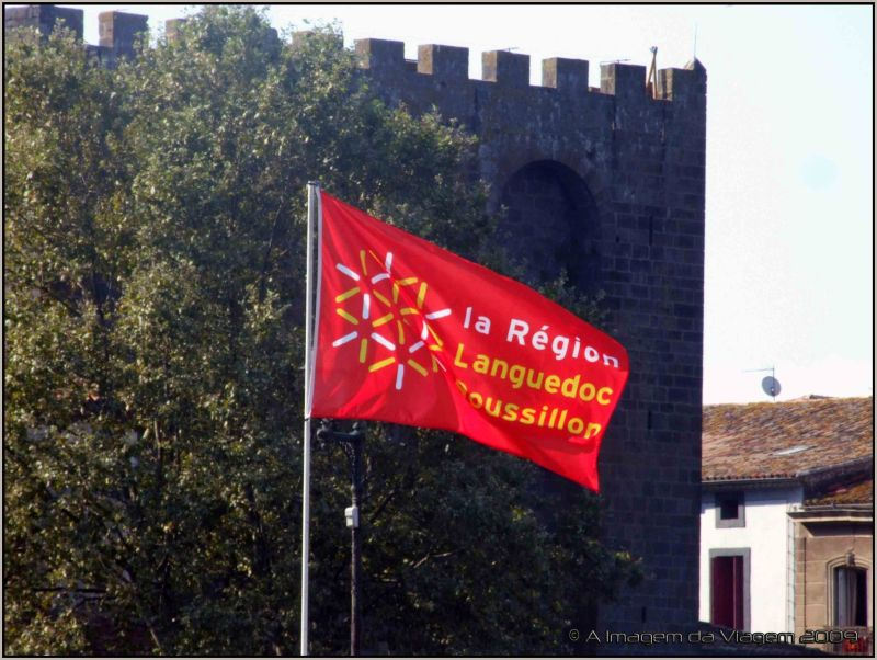 Bandeira Languedoc Roussillon