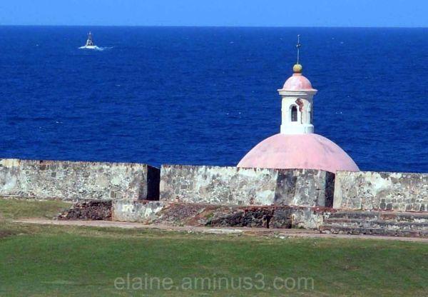 Cemetary at El Morro