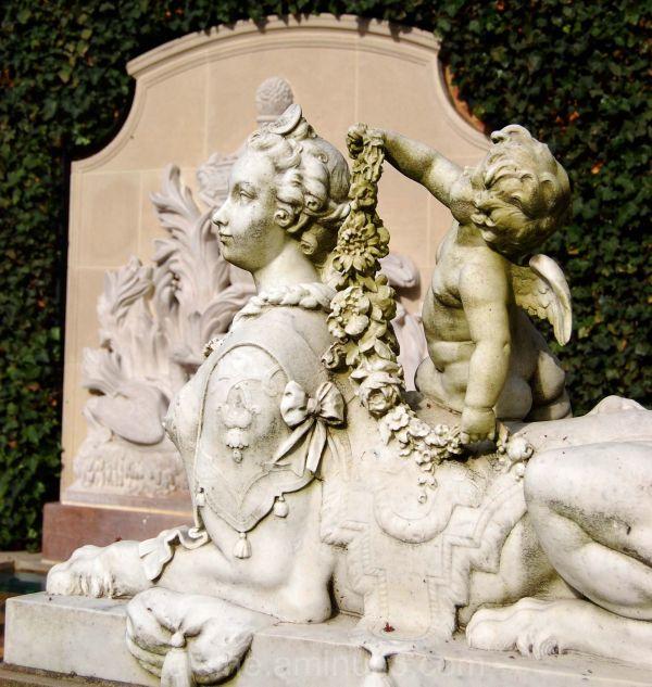 Hillwood Mansion Statue