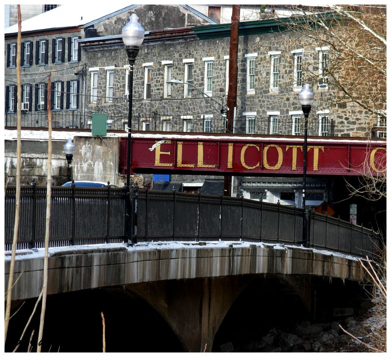 Ellicott City, train bridge