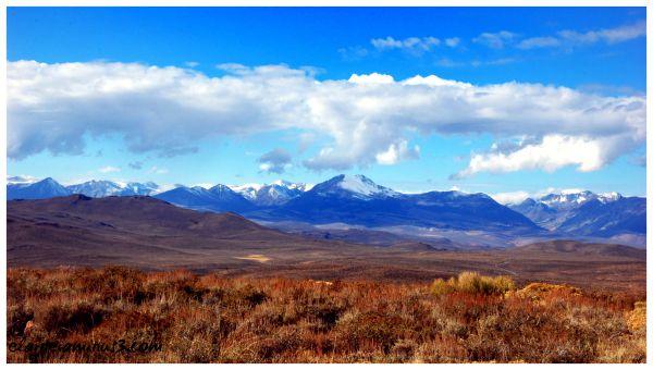 View of the Sierra Nevadas