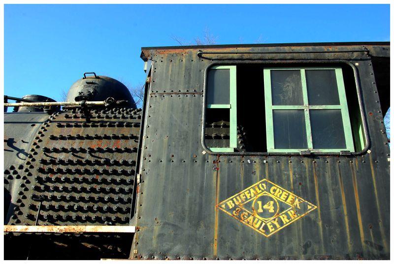 locomotive, train