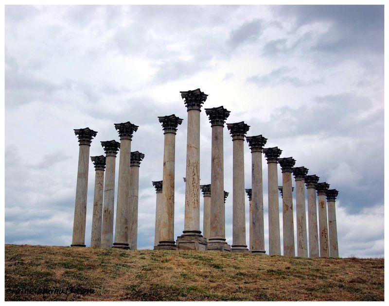 US Capitol, columns