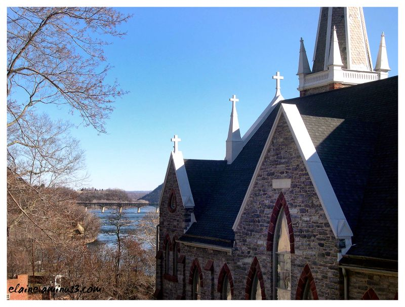 church, Potomac River