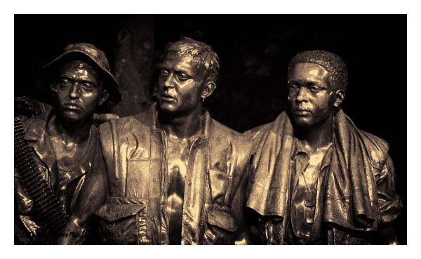 The Three Servicemen Statue