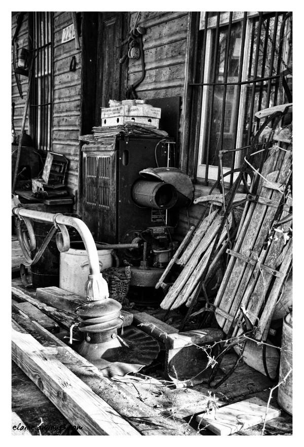 Porch Clutter