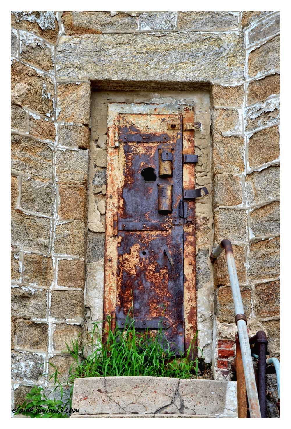 guard tower door