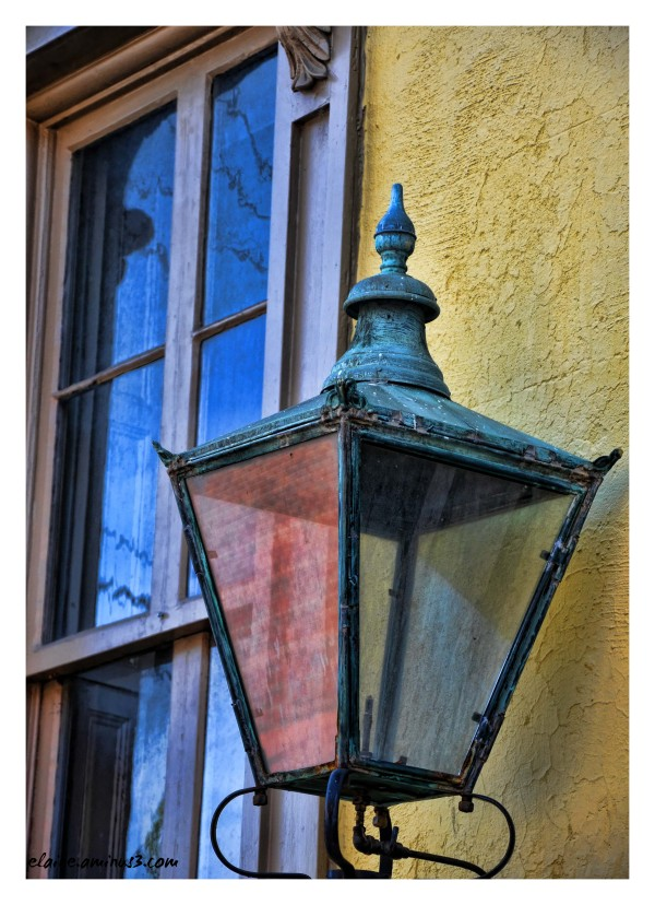 lamp and window