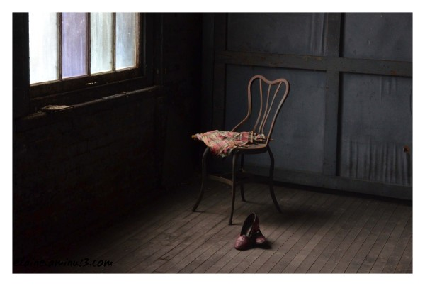 shoes and chair