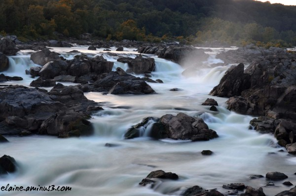 Water Mist at Great Falls