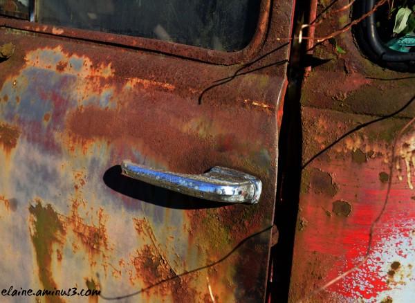 truck door handle