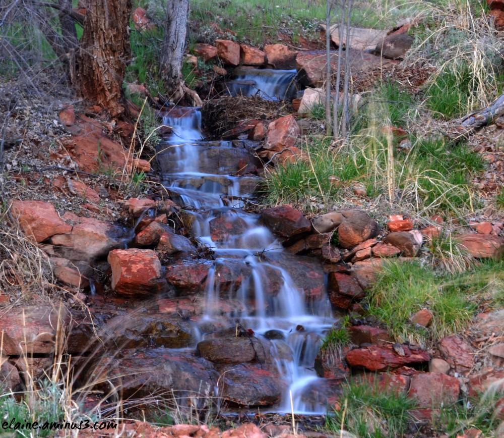 little water fall
