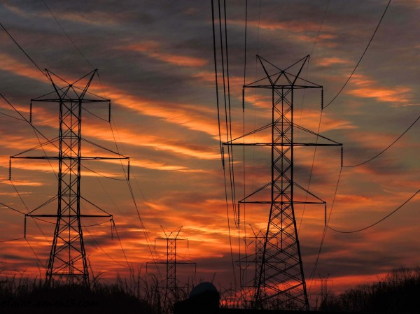 High Voltage Sunset