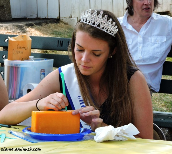Cheese Carving Contest