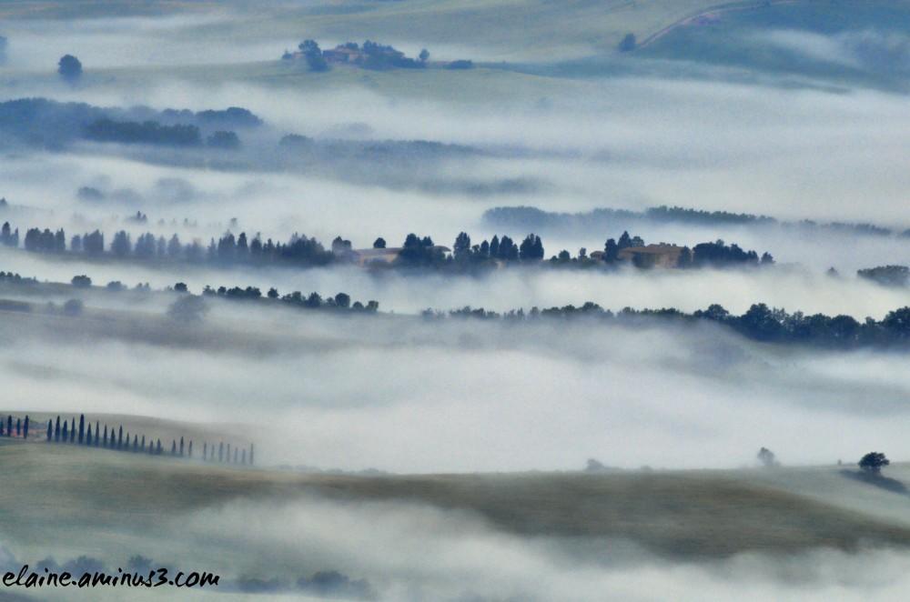 tuscany fog