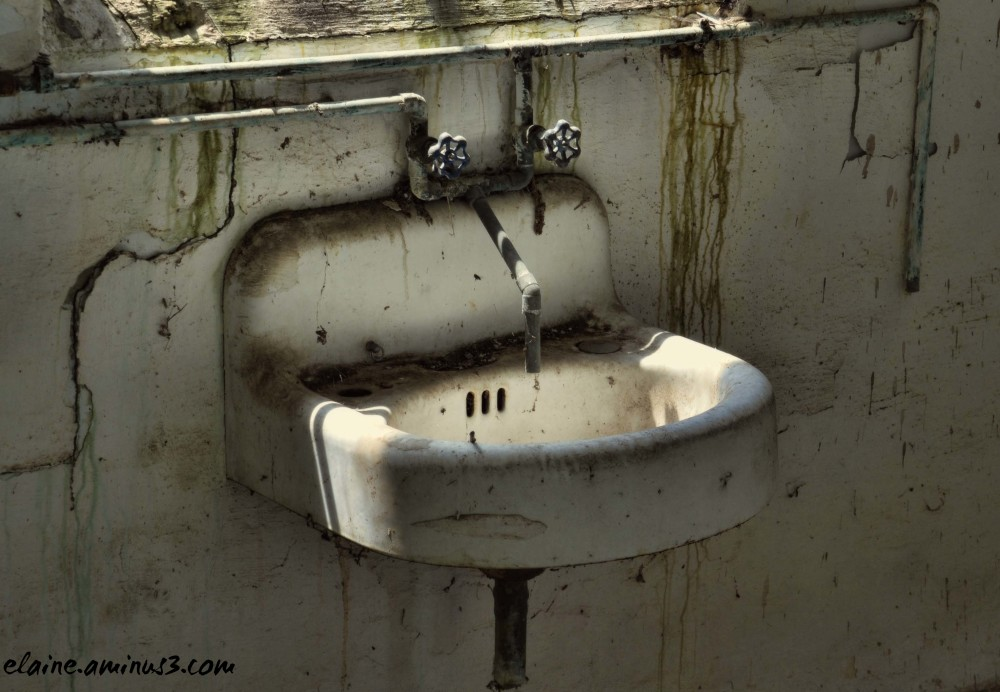 waterless sink