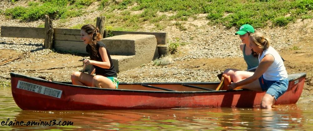 potomac river canoeing