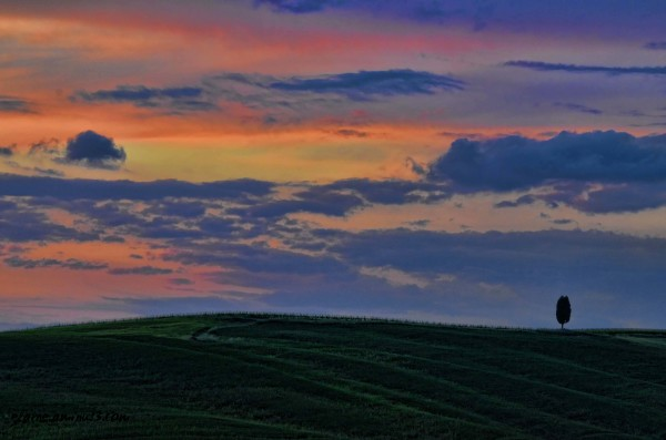Sunset in Tuscany 2