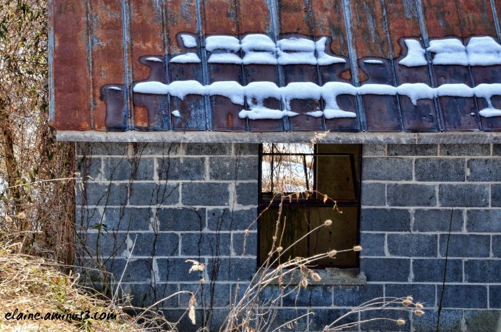 cinder block shed